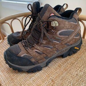 Merrell Men's Moab 2 Mid Waterproof Boots 8.5
